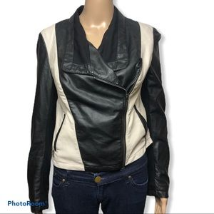 I.N.C International Concepts faux leather jacket
